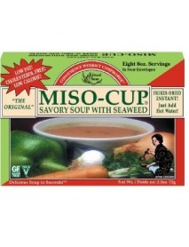 Edward & Sons Miso-Cup With Seaweed (12x2.5 Oz)