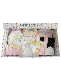 Girl 72 Piece Baby Starter Set Box