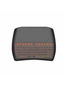 Mini I8 D8-S English Silk screen Version wireless 2.4GHz keyboard MX3 Air Mouse
