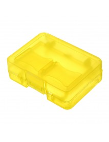 3pcs Yellow Backpacker GK-1CF4SD Portable Memory Card Receiving Box Mobile TF Card Camera CF/SD Storage Card Box