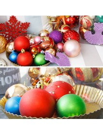 26PCS Christmas Tree Ball Bauble Home Party Ornament Hanging Decor Party Christmas Tree Decoration