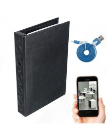 1080P HD Hidden Camera Book Home Security Camera Night Vision Motion Activated DVR