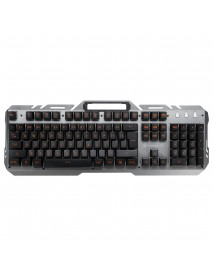 104 Key USB Wired Backlit Mechanical Handfeel Gaming Keyboard with Phone Support