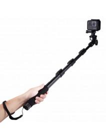 PULUZ PU54B Extendable Adjustable Handheld Selfie Stick Monopod for Action Sportscamera Phone
