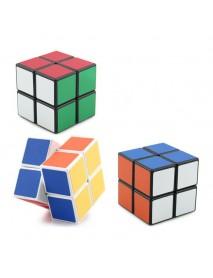 4PCS Classic Magic Cube Toys Set 2x2x2 and 3x3x3 4x4x4 and 5x5x5 PVC Sticker Block Puzzle Speed Cube