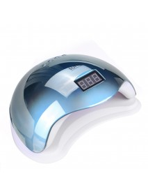 4 Speed Automatic Nail Dryer Machine 24 UV/LED Dual Light Beads Gel Curing Polishing Timing Lamp