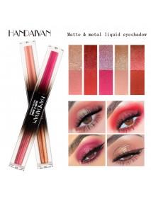 5 Colors Colorful Shimmer Glitter Liquid Eye Shadow Eye Makeup Long-Lasting