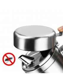 1000ml Leak Proof Oil Dispenser Stainless Steel Pourer Vinegar Cruet Kitchen Flavouring Tool Bottles