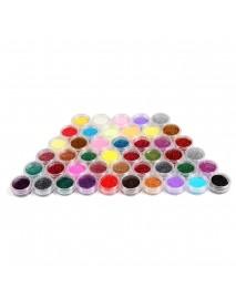 45 Color Fine Powder Red Nail Polish Set