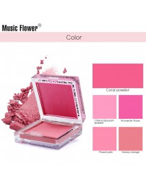 Mekeup Blush Powder Palette Long-lasting Brighten Face Blusher Beauty Cosmetics