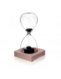 MEILIDA 1Pc Magnetic Hourglass Sand Timer Clock Magnet Magnetic Crafts Desktop Decoration Gifts for Club Hotel Home Office
