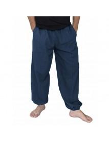 INCERUN Men's 100% Cotton Breathable Baggy Pants Casual Sports Harem Yoga Trousers Large Size S-5XL