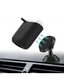 Bakeey Magnetic Shockproof Protective Case With Hook For Apple AirPods