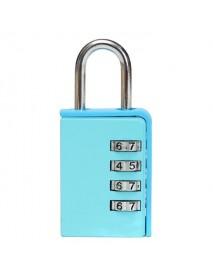 4 Digit Combination Home Door Toolbox Lock Luggage Suitcase Padlock
