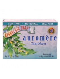 Auromere Tulsi Neem Bar Soap (1x2.75 Oz)