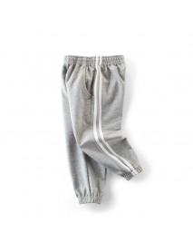 Casual Children Kids Boys Cotton Sports Long Pants Trousers