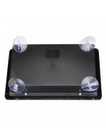 DIY Clear Black Acrylic Panel Case Sturdy Construction for Arcade Joystick Game Controller