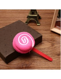 Candy Color Bathroom Cotton Lollipop Shape Towel Festival Party Birthday Valentine Gifts