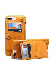 5.5 Inch Universal Detachable Wallet Card Slot Protective Case For iPhone 8 Plus/7 Plus/6s Plus