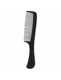 10Pcs Black Pro Salon Hair Styling Hairdressing Plastic Barbers Brush Comb Set