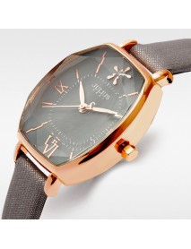 JULIUS 920 Luxury Slim Leather Strap Fashion Ladies Quartz Watch