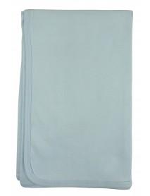 Bambini Blue Receiving Blanket