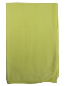 Bambini Yellow Receiving Blanket