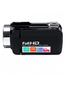 4K Full HD 1080P 24MP 18X Zoom 3 Inch LCD Digital Camcorder Video DV Camera 5.0MP CMOS Sensor for YouTube Vlogging