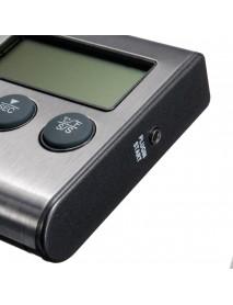 LCD Timer BBQ Termometro Digital Thermometer Sonda Cocina Comida Temperatura 482F Horno