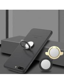 Metal Angel Devil Finger Ring Holder Mini Mirror 360 Degree Rotation Phone Stand for iPhone Samsung