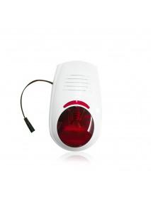 Bakeey Wireless Waterproof Outdoor Strobe Siren For GSM Alarm System Security For Smart Home