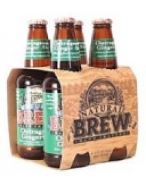 Natural Brew Ginger Ale Natural Brew Soda (6x4x12 Oz)