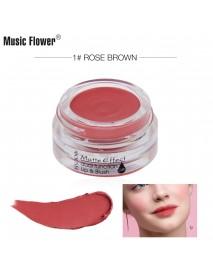 Music Flower Music Flower Matte Smooth Mousse Lip Blush Makeup Blush M4007