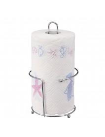 Stainless Steel Kitchen Tissue Paper Towel Roll Dispenser Holder Stand Pole Paper Art UKED For Home Office Living room Bedroom