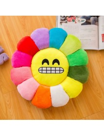 Colorful Sun Flower Pillow Plush Seat Cushion Soft Pillow
