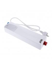3000W Mini EU Elegant Instant Hot Water Heater Electric Indoor Tankless Water Heater for Bathroom