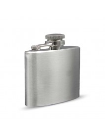 2oz Stainless Steel Pocket Flask Hip Flask Male Small Portable Mini Shot Bottles Whiskey Jug Gifts