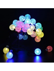 50LED 7M Solar String Lights Outdoor Waterproof 8 Modes Lights Globe for Garden Decoration