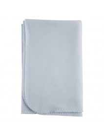 Bambini Blank Blue Polarfleece Blanket