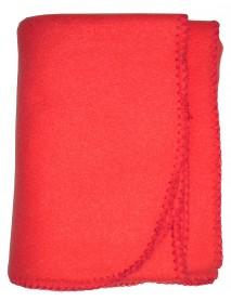 Bambini Blank Red Polarfleece Blanket