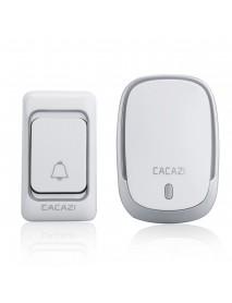 300M Waterproof Wireless Doorbell 36 Songs Chime WiFi Music Door Bell EU US Plug