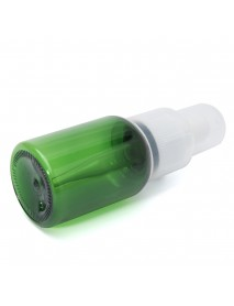 10pcs Empty Green Plastic Refillable Bottles Dropper Essence Essential Oil Liquid Container 35ml