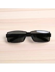 Bang good Mens Outdoor Square Rimless Luxury UV400 Polarized Sunglasses Driving Eyewear