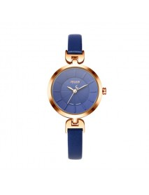 JULIUS 864 Slim Strap Luxury Round Simple Dial Fashion Girls Students Wrist Watch