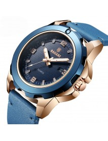 BAGARI 1689 Business Style Men Wrist Watch Luminous Date Display Quartz Watch
