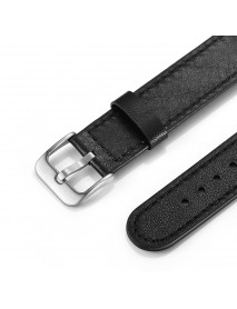18mm Genuine Leather Watch Band Easy Disassembly Watch Strap for Withings Smart Watch