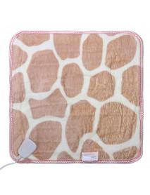 220v Soft Electric Heated Blanket Farley Velvet Office Sofa Winter Knee Heating Warm Blankets Cover Heater
