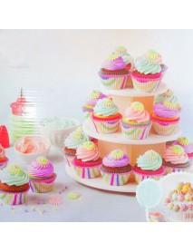 3 Tier Wedding Birthday Party Cake Cupcake Stand Dessert Display Lollipop Holder Cake Decorations
