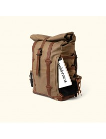 Men Large Capacity Canvas Backpack Travel Outdoor Hiking