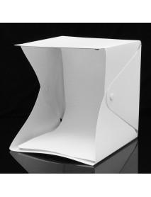 25x23x25cm Photo Studio LED Lighting Box Photography Backdrop Mini Light Room Portable Shooting Tent
